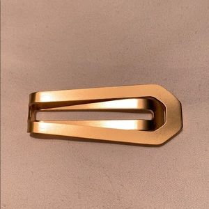 Gold money clip